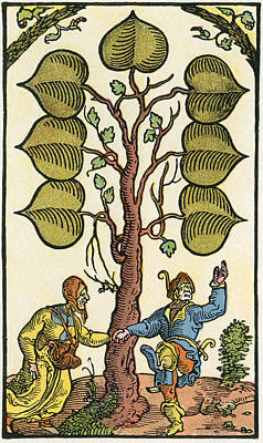 16th Century German Playing Card. From Poster by Vintage Design Pics
