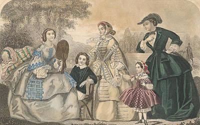 1858 #1 Poster by Karen Szatkowski