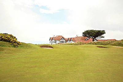 18th At Portmarnock Poster by Scott Pellegrin