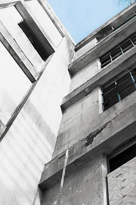 Derelict Building Poster by Tom Gowanlock