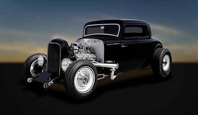 1932 Ford Coupe - The Deuce   -   32deuce11 Poster by Frank J Benz