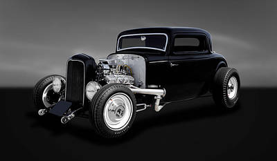 1932 Ford Coupe - The Deuce   -   32deuce22 Poster by Frank J Benz