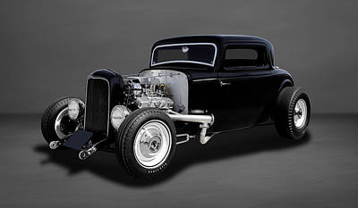 1932 Ford Coupe - The Deuce   -   32deuce33 Poster by Frank J Benz