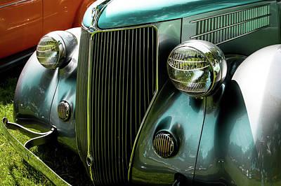 1936 Ford V8 Model 48 Poster by John Bartelt
