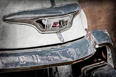 1954 Chevrolet Panel Truck Grille Emblem -1301ac Poster by Jill Reger