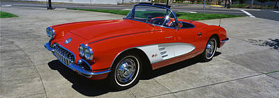 1959 Corvette Poster by Panoramic Images