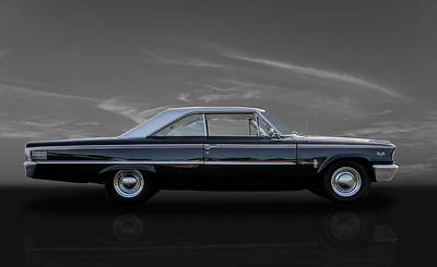 1963 Ford Galaxie 500xl Poster by Frank J Benz