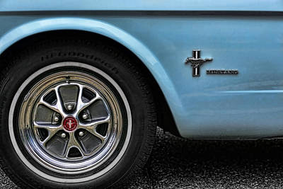1964 Ford Mustang Poster by Gordon Dean II