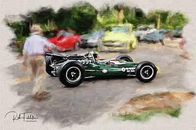 1964 Lotus Type 34 Indy Car Poster by Rich Fiddelke
