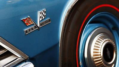 1966 Chevrolet Chevelle Ss 396 Turbo Jet Poster by Gordon Dean II