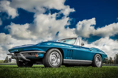 1966 Corvette Stingray  Poster by Ron Pate