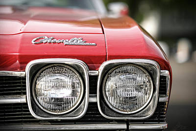 1969 Chevrolet Chevelle Ss 396 Poster by Gordon Dean II