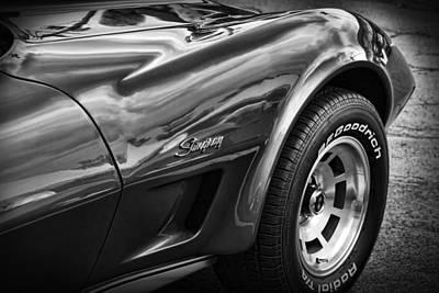 1973 Chevrolet Corvette Stingray Poster by Gordon Dean II