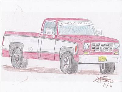 1978 Chevrolet Pickup Poster by Stanley Lobby