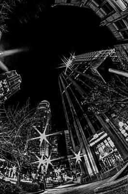 1st January, 2014, Charlotte, Nc, Usa - Nightlife Around Charlot Poster by Alexandr Grichenko