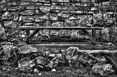 Abandoned Bench Poster by Milan Karadzic