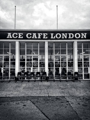 Ace Cafe Of London Poster by Mountain Dreams