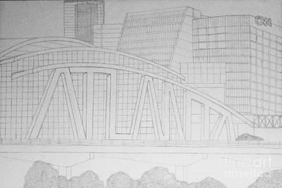 Atlanta Poster by Omari Slaughter