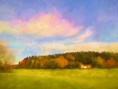 Autumn Landscape Poster by Lutz Baar