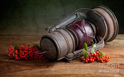 Autumn Still Life Poster by Nailia Schwarz