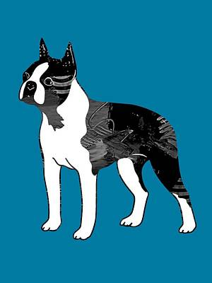 Boston Terrier Collection Poster by Marvin Blaine
