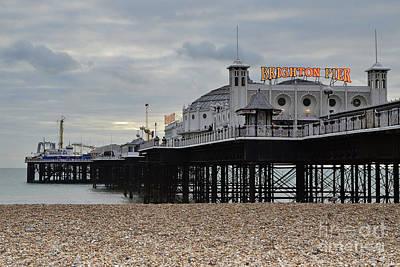 Brighton Pier Poster by Stephen Smith