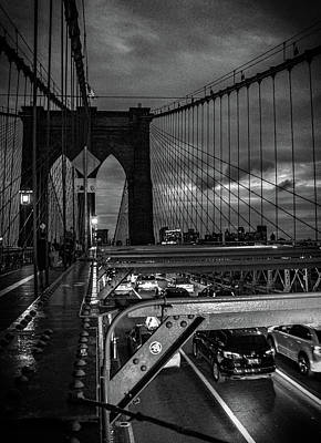 Brooklyn Bridge Poster by Martin Newman