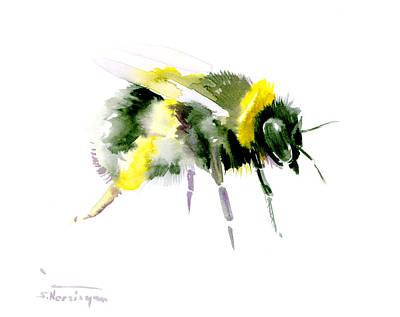 Bumblebee Poster by Suren Nersisyan