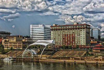 Charleston West Virginia Waterfront Poster by Mountain Dreams