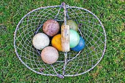 Croquet Balls Poster by Tom Gowanlock