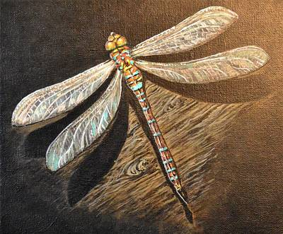 Dragonfly Poster by Kimberly Benedict