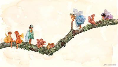 Fairies Poster by Anne Geddes