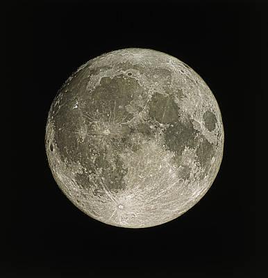 Full Moon Poster by Eckhard Slawik