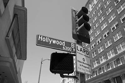 Hollywood Boulevard Poster by Mountain Dreams