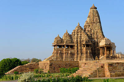 Khajuraho Temple, Chhatarpur District Poster by Panoramic Images