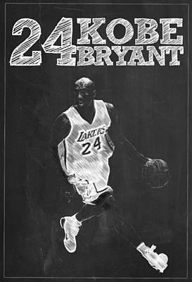 Kobe Bryant Poster by Semih Yurdabak