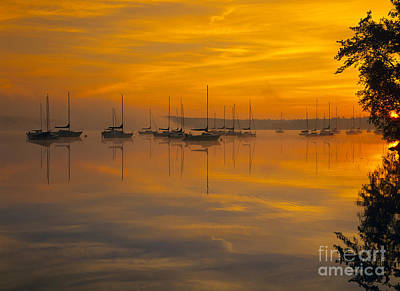 Lake Massabesic - Auburn New Hampshire Usa Poster by Erin Paul Donovan