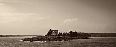 Lighthouse Near Bar Harbor Maine Poster by Mountain Dreams
