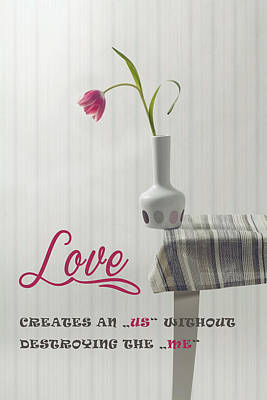 Love Poster by Joana Kruse