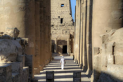 Luxor Temple - Egypt Poster by Joana Kruse