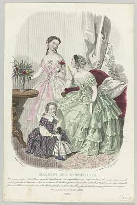 Magasin Des Demoiselles Poster by Celestial Images