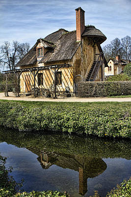 Marie Antoinette Cottage In Versailles Poster by David Smith