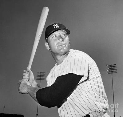 Mickey Mantle (1931-1995) Poster by Granger