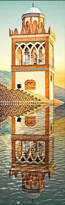 Minaret Poster by Tom Gowanlock