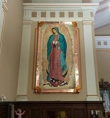 Our Lady Of Guadalupe Poster by Patrick RANKIN