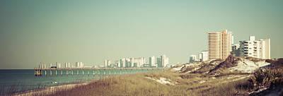 Panama City Beach  Poster by Debra Forand