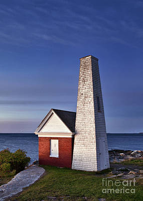 Pemaquid Point Bell House Poster by John Greim