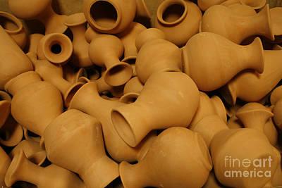Pottery Poster by Gaspar Avila