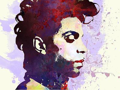 Prince Poster by Elena Kosvincheva