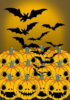 Pumpkin Poster by Mark Ashkenazi